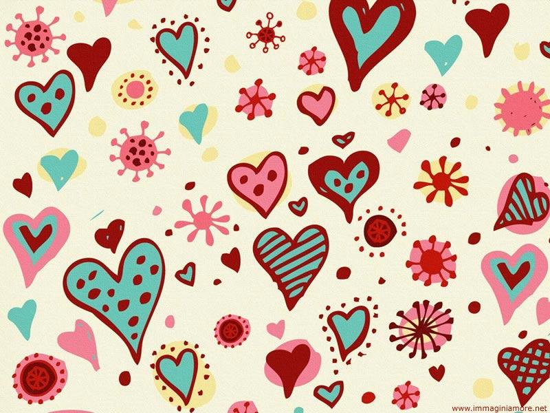Immagine Desktop Amore Cuori