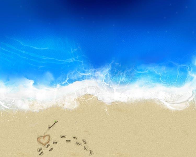 Immagine amore mare bellissima immagine amore con sfondo for Immagini sfondo mare