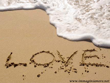 Immagine Love Sulla Sabbia
